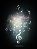 Treble clef or music symbol Royalty Free Stock Photos