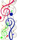 Treble clef for your design. A  illustration Stock Photography
