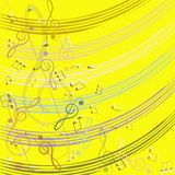 Treble clef for your design. Stock Images
