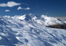 Treble Cone ski hill Stock Photo
