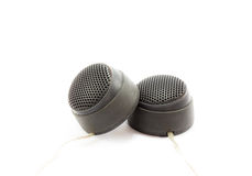Treble speakers Royalty Free Stock Image