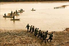 TREBON,捷克- DEC 2014年- Svet池塘在Trebon 免版税库存图片