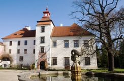 Trebon castle, Czech Royalty Free Stock Photos