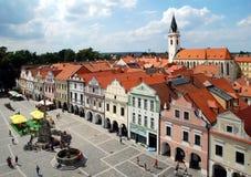 Trebon, Czech republic. Historic town Trebon in Southern Bohemia, Czech republic Royalty Free Stock Photo