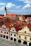 Trebon, Czech republic. Historic town Trebon in Southern Bohemia, Czech republic Royalty Free Stock Photos