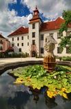 Trebon kasztel w republika czech Zdjęcie Royalty Free