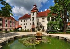 Trebon kasztel w republika czech Fotografia Royalty Free