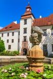 Trebon (Wittingau) Renaissance Castle Stock Image