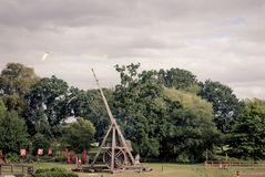 Trebuchet Photo stock