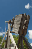 Trebuchet and mangonel Stock Photo