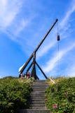Trebuchet in Skagen stock photo
