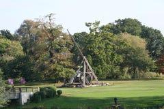 Trebuchet, Warwick Castle, Warwickshire, Engeland Royalty-vrije Stock Fotografie
