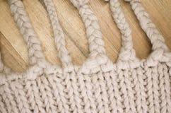 trecce fatte a mano della lana Immagine Stock Libera da Diritti