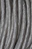Treccia dell'acciaio inossidabile Fotografia Stock