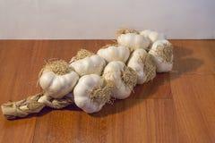 Treccia dell'aglio fotografia stock