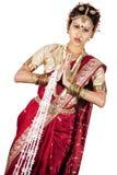 Treccia tamil Fotografia Stock Libera da Diritti