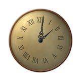 Trece horas de reloj Imágenes de archivo libres de regalías