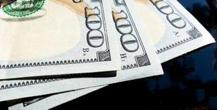 Trecento dollari Immagini Stock