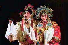 Trecho da ópera do Cantonese Fotografia de Stock
