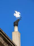 Trechter met Pegasus Royalty-vrije Stock Foto's