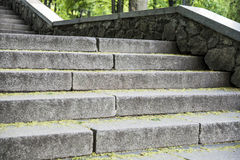 Trede concrete trap Royalty-vrije Stock Fotografie