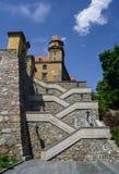 Treden aan het kasteel van Bratislava Royalty-vrije Stock Fotografie