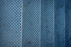Treden grunge van oud metaal Stock Fotografie