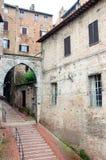 Treden in Perugia Royalty-vrije Stock Afbeelding