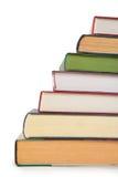 Treden van boeken royalty-vrije stock foto's