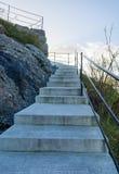 Treden van het gezichtspunt, Alesund Stock Foto