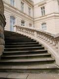 Treden van het paleis Royalty-vrije Stock Foto's