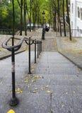Treden van Montmartre, Parijs Stock Foto's