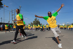 tredicesima edizione di grande funzionamento etiopico Fotografie Stock