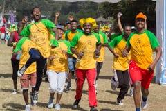 tredicesima edizione di grande funzionamento etiopico Fotografia Stock Libera da Diritti