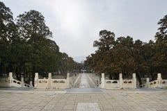 Tredici tombe di Ming Dynasty Fotografie Stock Libere da Diritti