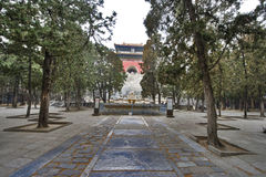 Tredici tombe di Ming Dynasty Fotografia Stock