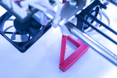 Tredimensionell printingmaskin Royaltyfria Bilder