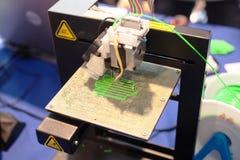 Tredimensionell printingmaskin Royaltyfri Fotografi