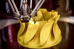 Tredimensionell printingmaskin Arkivbild