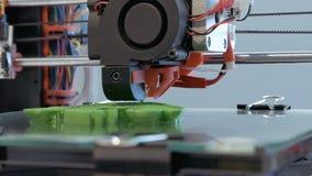 Tredimensionell skrivare för plast- 3d arkivfilmer