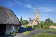 Tredington, le Warwickshire Images libres de droits