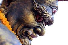 Tredje öga för jätte- statyer Royaltyfri Fotografi
