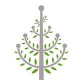 Tree. Abstract  illustration of a tree Royalty Free Stock Photos