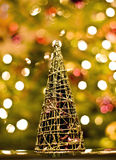 Tree. Modern decoration representing christmas tree stock photos