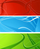 Tree abstract banners royalty free illustration