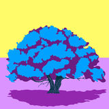 Tree. Abstract illustration with a tree for your design Stock Photos