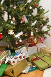 Tree And Gifts Royalty Free Stock Photography