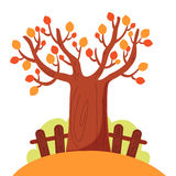 Tree in autumn Royalty Free Stock Photo
