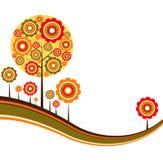 Tree autumn background,  Stock Image