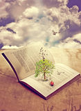 Tree av kunskap Arkivfoton